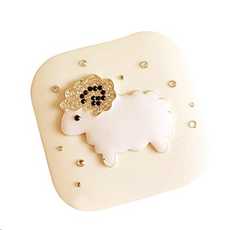 Eine Reihe Von Exquisite Mode Sheep - Uk Halloween-kontaktlinsen Weiß