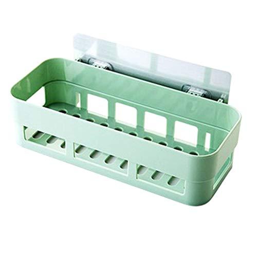 DIPOLA küche Badezimmer zahnbürste zahnpasta kleinigkeiten lagerregal Kunststoff Badezimmer küchenecke lagerregal lagerregal duschenständer (hellblau, pink, beige, grün)