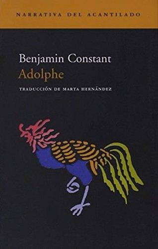 Adolphe (Narrativa del Acantilado)