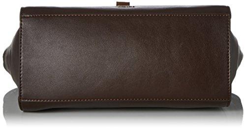 Tamaris - Mette Handbag, Borsa Donna Marrone (Dark Brown Comb.)