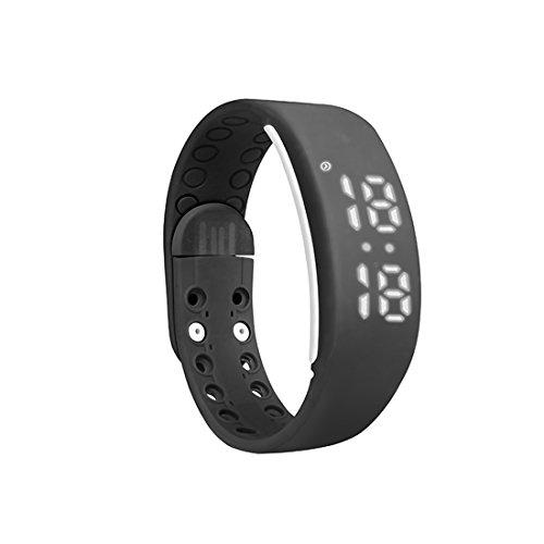 Fitness Armband Silikagel Track Schrittzähler Schlafanalyse Smart Armbänder W2