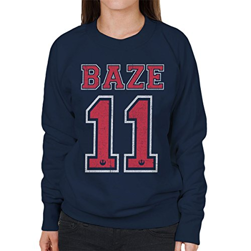 Star Wars Rogue One Baze 11 Women's Sweatshirt Navy blue