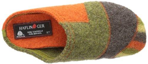 Haflinger Quarter 481009, Chaussons femme Orange  - Orange (rost 43)