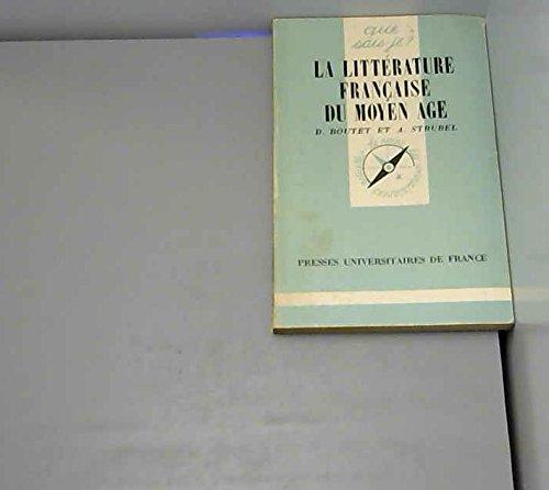 La Littérature française du Moyen âge