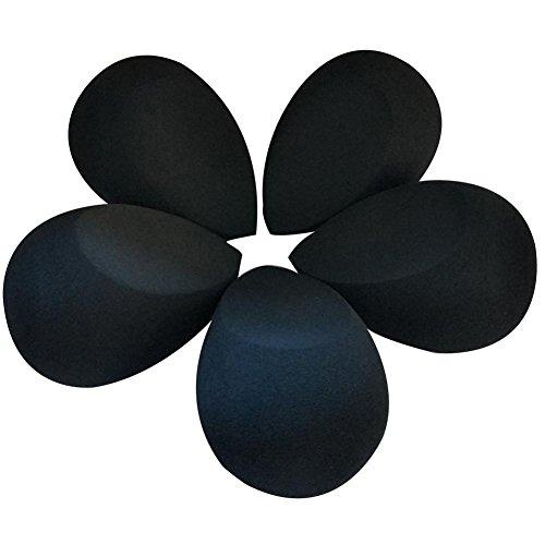 Bilden Sie Puff 5PCS Schwämme Internet-Pro-Schönheit Flawless Verfassungs-Blender-Grundlagen-Schönheits-Make-upschwamm-Puderquaste nicht-Latex nass und trocken Doppelt-Gebrauch bilden Hauch-Schwämme - Pulver-applikator