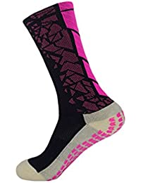 271b03fcf65 Kairuun Antidérapant Chaussettes Hommes Sport Respirant Athlétisme  Chaussettes pour Football Handball Rugby Basketball