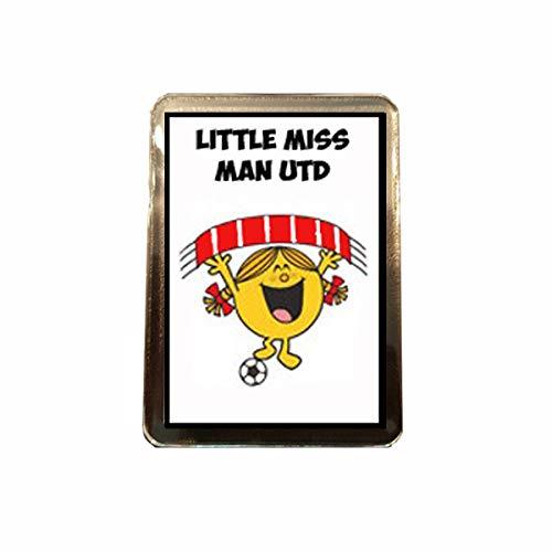 Manchester United F C - Little Miss Football Fridge Magnet