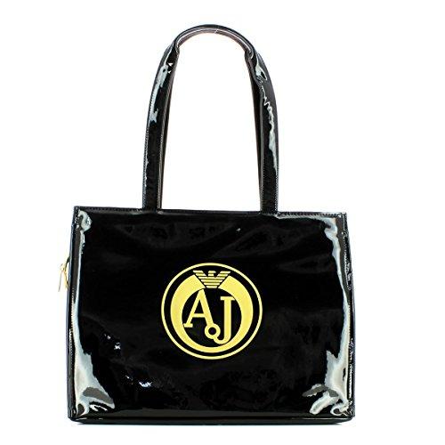 ARMANI JEANS femme achats sac 922.160 6A735 03420 BLACK / GOLD