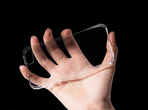 Iphone 5 5S SE Hülle Nnopbeclik® Ultra Slim Glitzer Schutzhülle Silikon Transparent Durchsichtig TPU Bling Back Cover Case, Schutzhülle Muster Protective Glänzend Kristall Diamant Clear Case Stoßdämpf Transparent+Grau