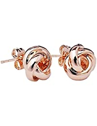 Lily Jewelry - Pendientes para mujer, brillantes, de diseño