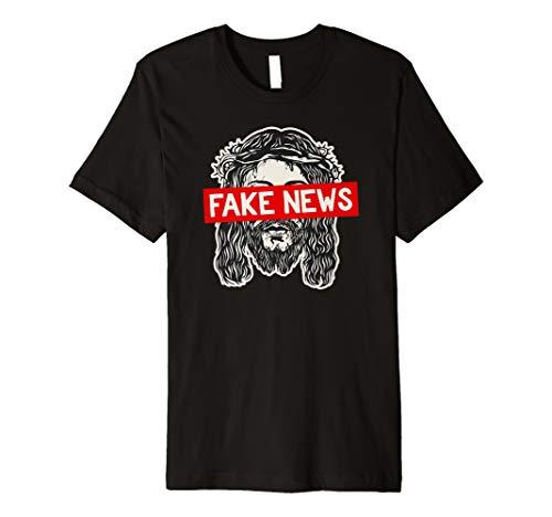 Atheist, Anti Religion T-Shirt: Religion ist Fake News Shirt
