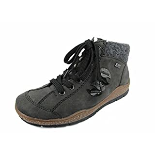 Womens Napoli Waterproof Lace Up Ankle Boots L6904-45 UK 6 / EU 39