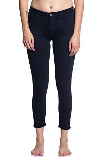 Abbino 3D-6109 Jeans mit Taschen Damen Frauen - 7 Farben - Übergang Herbst Winter Elegant Charme Sexy Zärtlichkeit Casual Festlich Lässig Festlich Flexibel Dynamic Komfortabel Verkauf Fashion Marine Blau