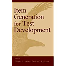 Item Generation for Test Develop