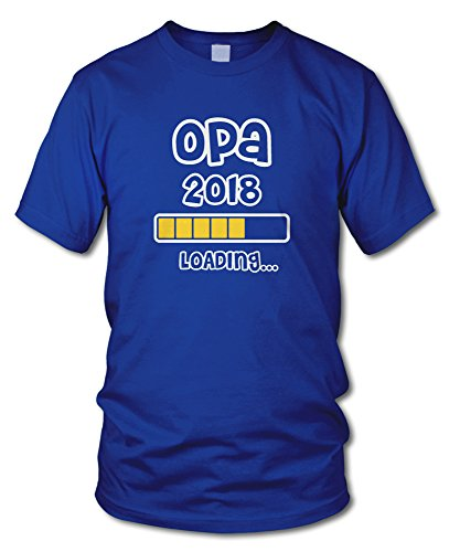 shirtloge - OPA 2018 LOADING... - KULT - Fun T-Shirt - in verschiedenen Farben - Größe S - XXL Royal