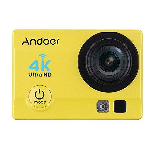 Andoer 4k 1080p wifi cam 16 mp action camera 5,08 cm (2