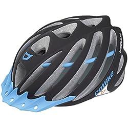 Catlike Vacuum Casco de Ciclismo, Unisex adulto, Negro (Mate) / Azul, L/58-60 cm