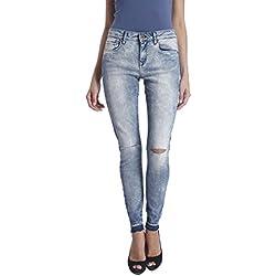 ONLY Women's Skinny Jeans (15115174_L_Medium Blue Denim)