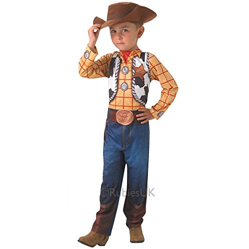 Für Kinder Woody Kostüm (Woody Classic - Toy Story - Kinder-Kostüm - Medium -)