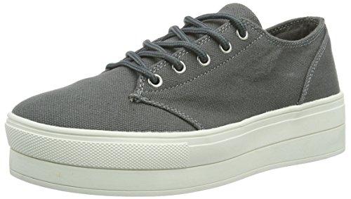 Bianco Flatform Sneaker Jja16, Baskets Basses Femme Gris - Grau (15/Grey)