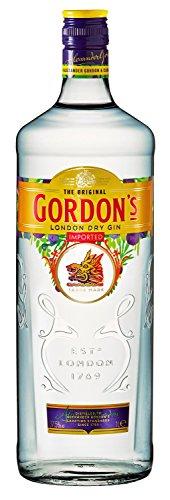 2 x Gordon\'s Gin 37,5{17f929dbf41b320bb3e980b3d19223938a635c516e092e7b584b9974a3f53f27} 1l Flasche