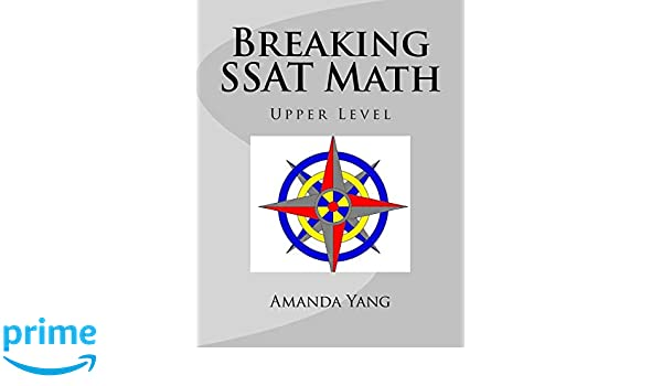 Middle Level Breaking SSAT Math