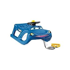Blau Lenkung Schlitten Happy Car zigi-zet vielleicht Rad und Klaxon