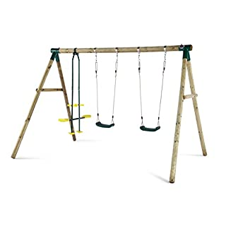 Plum Colobus Wooden Garden Double Swing & Glider Set (B002CJMV5E) | Amazon price tracker / tracking, Amazon price history charts, Amazon price watches, Amazon price drop alerts