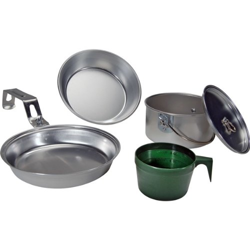Open Country 4362-3585 Individual Aluminum Mess Kit, 5-Piece