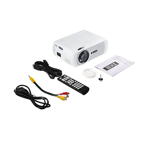 LESHP-Mini-Projecteur-LCD-1600-Lumens-1080P-Full-HD-Vidoprojecteur-Portable-Home-Cinma-pour-Multimdia-Divertissement-Vidos-Films-Jeux-Support-HDMI-VGA-USB-AV-TV