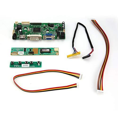 Pudincoco M.NT68676.2A HDMI DVI VGA Audio LCD LED Bildschirm Controller Board Kit Set (Farbe: grün) Vga Lcd-controller