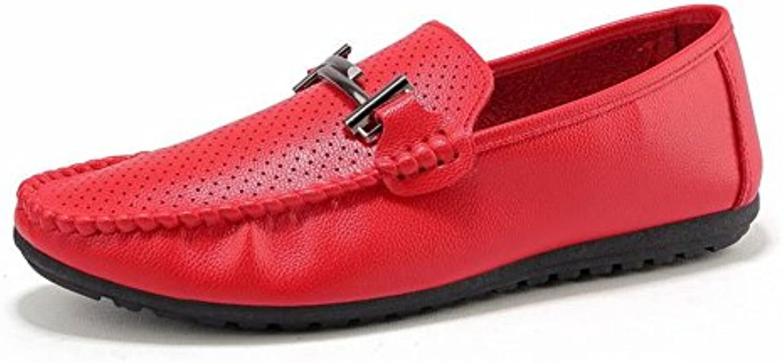 TYERY Los Zapatos de Moda de Los Guisantes Cómodos Zapatos Casuales Respirables Antideslizantes Coinciden con