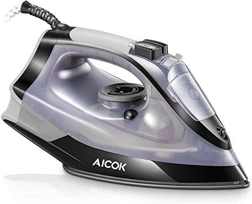 FERRO da stiro a vapore 2600w PIASTRA rivestimento in ceramica self clean Controllo del termostato regolabile