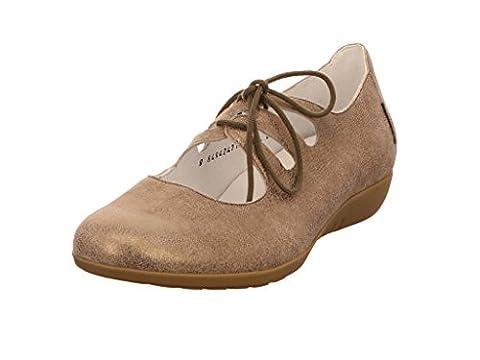 Mephisto Darya 26665 Dtaupe, Chaussures de ville à lacets pour femme - gris - gris,