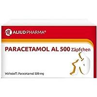 Paracetamol AL 500 Zäpfchen, 10 St. preisvergleich bei billige-tabletten.eu