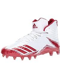 sports shoes 2f9fd 6c900 adidas Freak X Carbon Mid, Herren American Football Schuhe Weiß WhitePower  Red