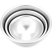 1 Juego Molde Bola Aleación Aluminio Herramientas Cocina para Hacer Torta Pastel