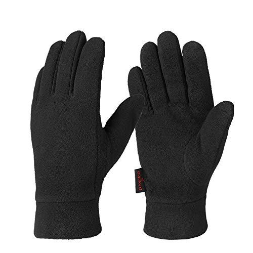 OZERO Winter Handschuhe, Polar Fleece Thermo Handschuhe für die Hände warm zu halten, für Herren und Damen, 1 Paar Polar-fleece Liner