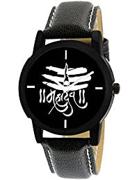 Scarter Mahadev Black Dial Analog Watch For Boys And Men-MH-Black-10