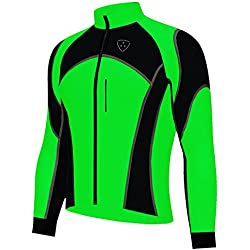 Deportes Hera Chaqueta Ciclismo, Wind Stopper Jacket, Impermeable al Al Agua y Viento
