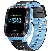 Dailyinshop Los niños estudian Play Touch Screen Smart Watch Outdoor Tracker SOS Watch