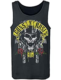 b17e7f1a4ecab1 Guns N Roses Top Hat Tanktop Black