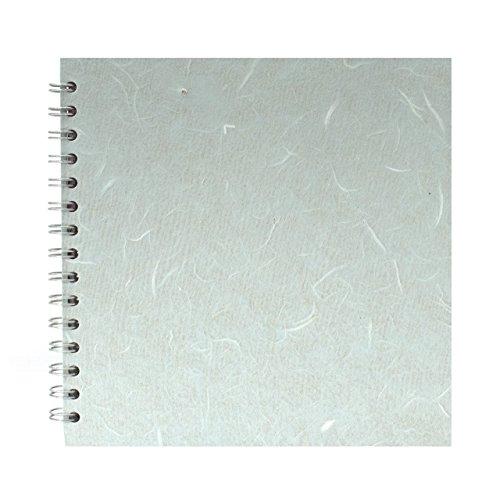 Pink Pig Skizzenheft, quadratisches Papier, 200 x 200mm, Blau
