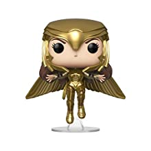 POP Heroes: Wonder Woman 1984- Wonder Woman Gold Flying (Metallic)