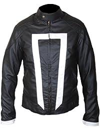 F&H Men's Gabriel Luna Ghost Rider Jacket