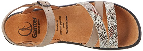 Ganter Sonnica-e, Sandales  Bout ouvert femme Beige (taupe/stone)
