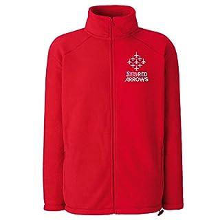Red Arrows™ Diamond 9 Logo Fleece (Red, Large)