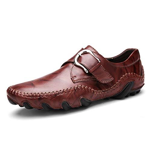 Mens Loafers Mens Dress Schuhe Leichte Atmungsaktive Schuhe MäNner Wohnungen Weiche Mokassins MäNnliche Laufschuhe Walking (Ballett Wohnungen Weichen)