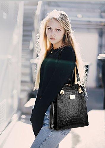 61b2767c080fc NICOLE DORIS Neuer Trend Rucksack Umhängetasche Damen   Frauen Dual-Use-College  Wind Mode- ...