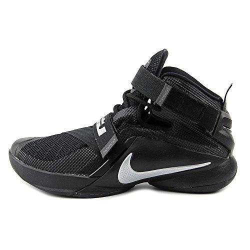 Nike , Chaussures spécial basket-ball pour homme - Black/Metallic Silver
